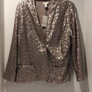 NWT  Chico's sequin jacket
